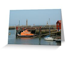 Whitby Lifeboat Greeting Card