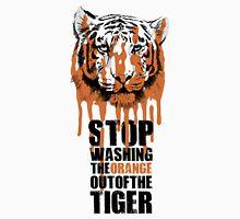 White Tiger Fraud (For Light Backgrounds) Unisex T-Shirt