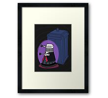 Daleks in Disguise - Twelfth Doctor Framed Print