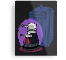 Daleks in Disguise - Twelfth Doctor Metal Print