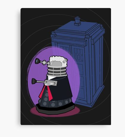 Daleks in Disguise - Twelfth Doctor Canvas Print