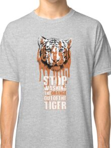 White Tiger Fraud (For Dark Backgrounds) Classic T-Shirt