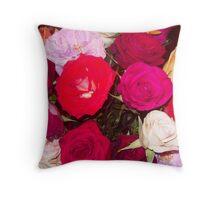 My Roses 1 Throw Pillow