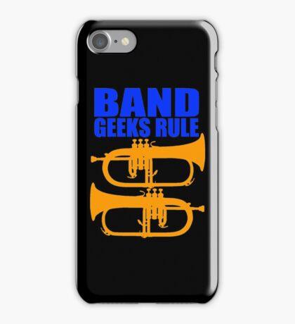 BAND GEEKS RULE-FLUGELHORN iPhone Case/Skin