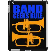 BAND GEEKS RULE-FLUGELHORN iPad Case/Skin