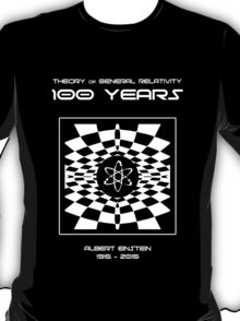 Warped Space Version, 100 Year Anniversary of Einstein's Theory of General Relativity T-Shirt