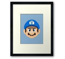 Super Ron Framed Print