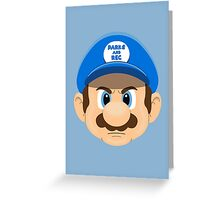 Super Ron Greeting Card