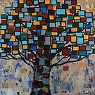 :: Stained Glass Tree :: by Gale Storm Artworks