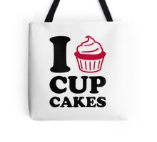 I love cupcakes Tote Bag