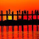 MANDALAY SUNSET by Michael Sheridan