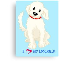 For all Doodle Lovers Canvas Print