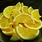 Lemon slices by Thad Zajdowicz