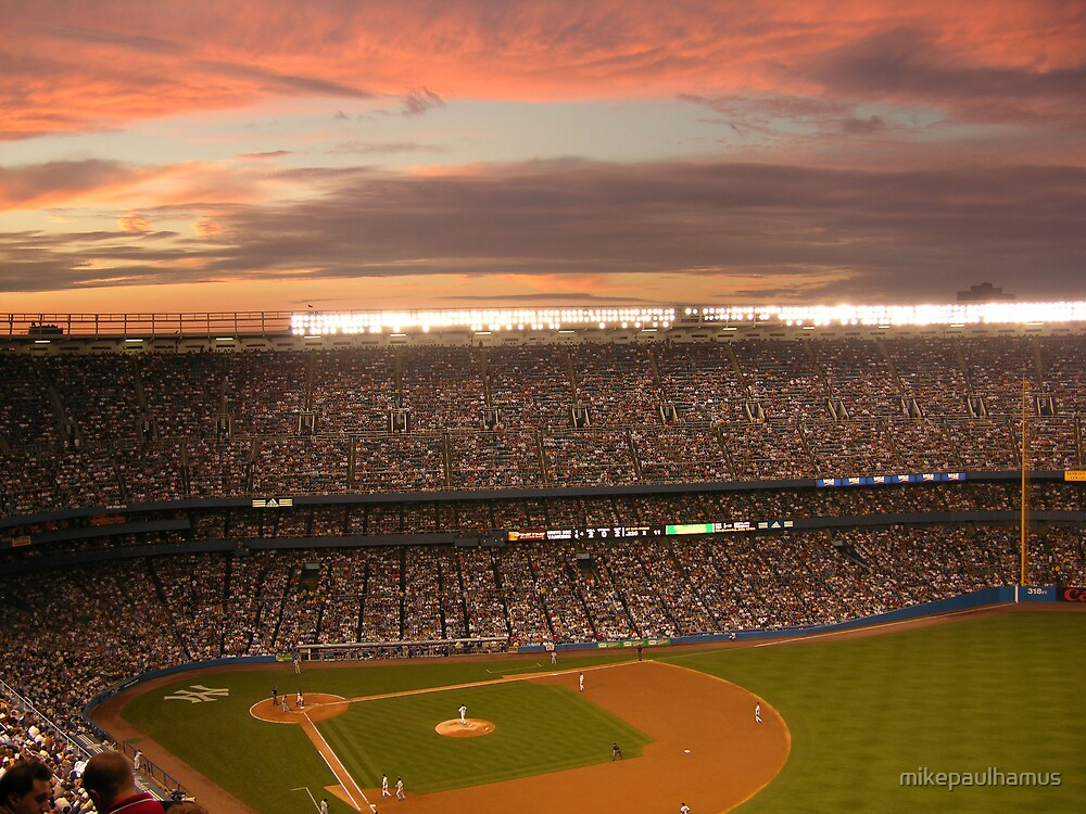 Yankee Sunset by mikepaulhamus