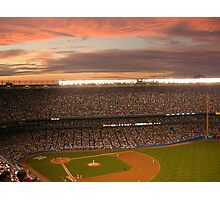 Yankee Sunset Photographic Print