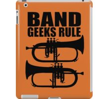 BAND GEEKS RULE-FLUGELHORN 2 iPad Case/Skin