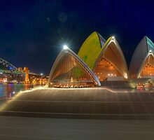 Opera House and Forecourt by Erik Schlogl