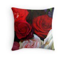 My Roses 4 Throw Pillow