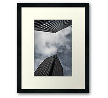 Corporate Neigbours Framed Print