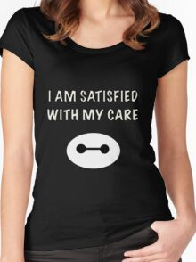 I am satisfied with my care. Women's Fitted Scoop T-Shirt