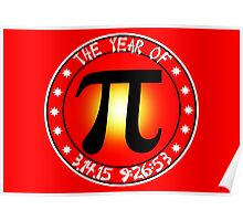 Year of Pi  3/14/15 9:26:53  Poster