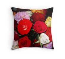 My Roses 11 Throw Pillow