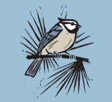 Bridled Titmouse by SigneNordin