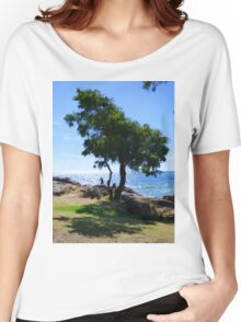 A Tree's Shadow Women's Relaxed Fit T-Shirt