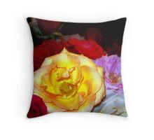My Roses 14 Throw Pillow