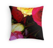 My Roses 15 Throw Pillow