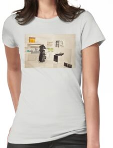 Time To Make The Death Star Womens Fitted T-Shirt