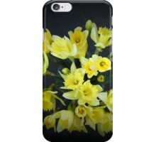 Daffodils Reaching Out iPhone Case/Skin