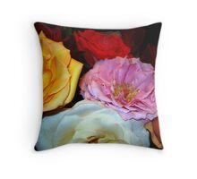My Roses 16 Throw Pillow