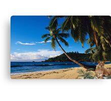 1008A-Tropical Queen Canvas Print