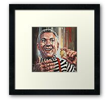 'Magic coin trick' Framed Print