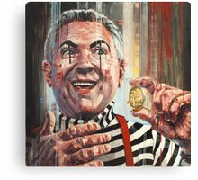 'Magic coin trick' Canvas Print