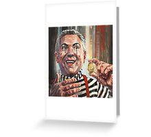 'Magic coin trick' Greeting Card