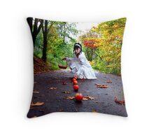 October Apples Throw Pillow
