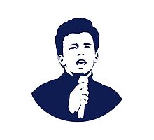 Rick Astley (Blue) by G-Design