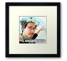 Markiplier Framed Print