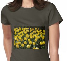Golden Dreams - Tulips in the Keukenhof Gardens Womens Fitted T-Shirt