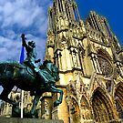 Notre-Dame Cathedral, Reims, France by vadim19