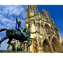 Notre-Dame Cathedral, Reims, France Photographic Print