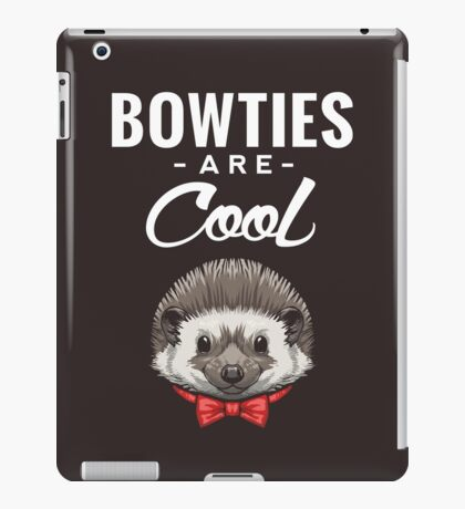 Bowties are Cool iPad Case/Skin