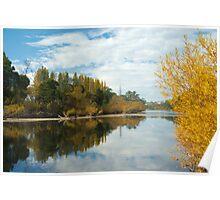 Derwent River in Autumn Poster