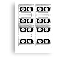 Tapes Canvas Print