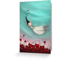 Love is a soft place to fall Greeting Card
