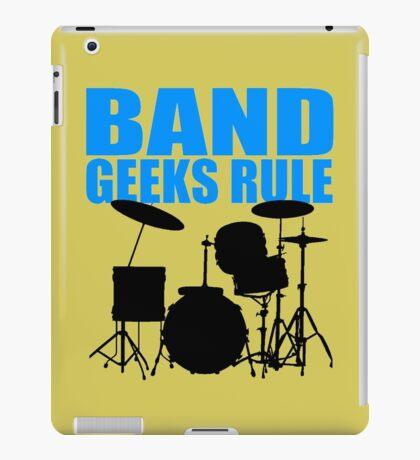 BAND GEEKS RULE-DRUM KIT iPad Case/Skin