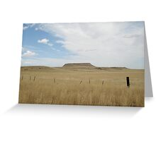Battle Butte Greeting Card