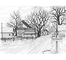 Cottonwood Unincorporated  150207 Photographic Print